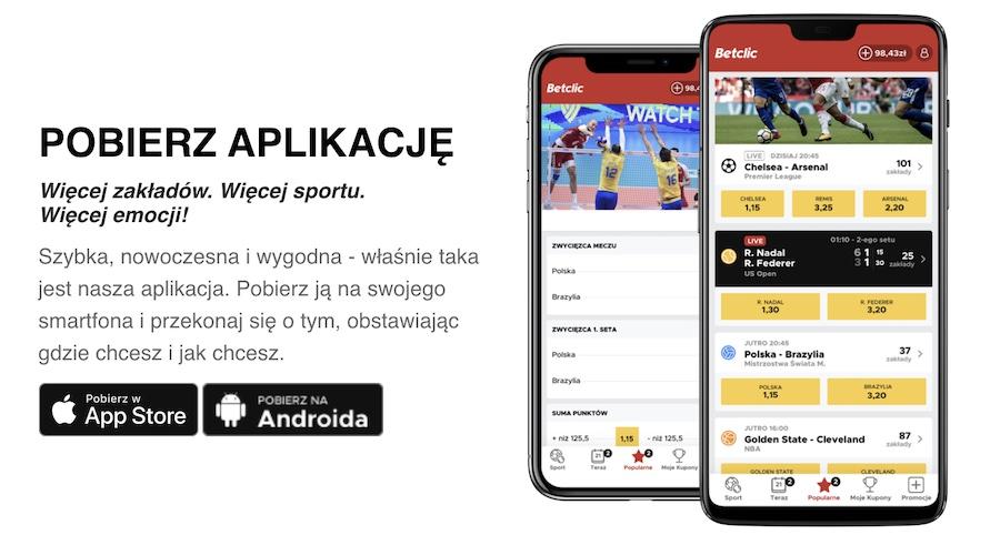 aplikacje mobilne bukmacherów online